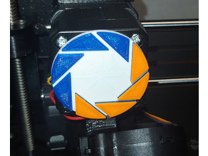 Aperture Science Extruder Indicator (multicolor with one extruder)