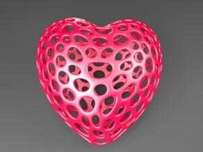 Heart - Voronoi Style