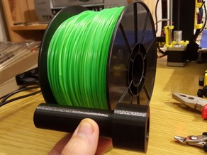 Freesculpt Filament Adapter Prusa i3 Hephestos (38mm - 21mm)