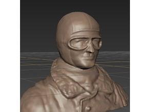 WW1 Manfred Von Richthofen pilot figure