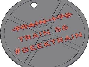 Geektrain Keychain!
