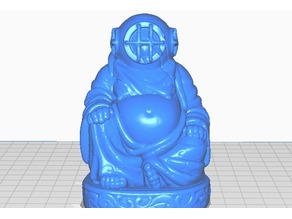 Deep Sea Diver Buddha
