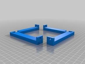 Right Angle Box Enclosure Filament Spool Holder