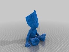 Baby Groot Pixelized