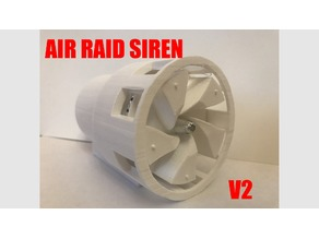 V2 Brushless Air Raid Siren
