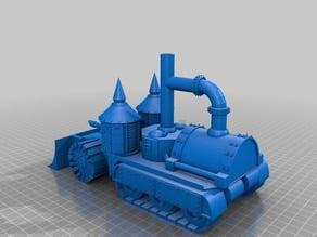 Armoured Steam powered Half-track