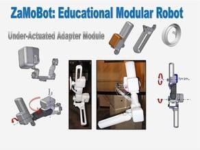 Modular Robot Under-Actuated Modules (ZaMoBot)