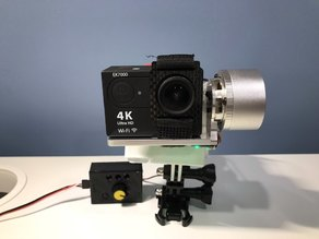 DIY GoPro Mount Gimbal from Chinese Gimbal (1 hour build!)