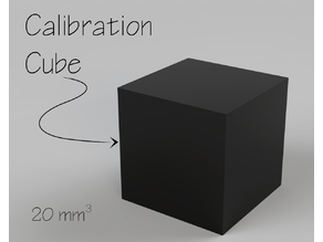 Calibration Cube for 3D Printers - 20 mm³
