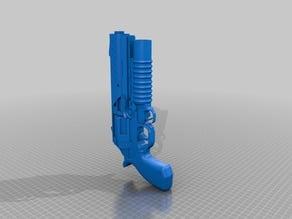 Big Ol' Gun w/ A Launcher