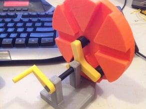 Roller Gear Mechanical Movement