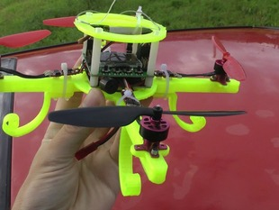 Mini quadrocopter