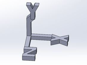XYZ Axis orientation conventions
