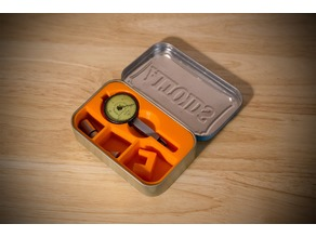 Dial Indicator Altoids Tin Insert