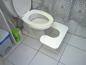 Bathroom footstool