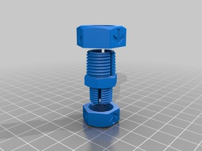 5mm to 10mm stepper to lead screw coupling