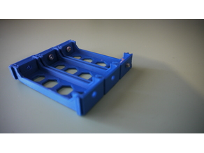 18650 battery holder meccano solderles
