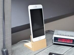 Elegant iPhone 6 (Plus) dock