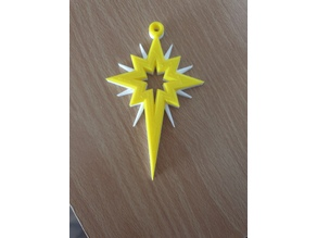 Christmas Tree Star Decoration