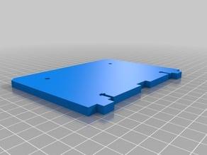 Blank Replicator 1 / CTC / Flashforge / Wanhao / QIDI Backplate Set