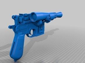 Star Wars DL-44 Han Solo Gun from ESB