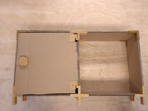 CMSS - Customizable Modular Storage System - Door hinge