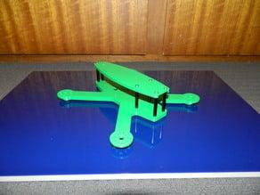 Sylphid quadcopter frame