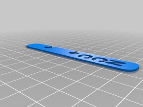 Initialed Disc System Page Marker