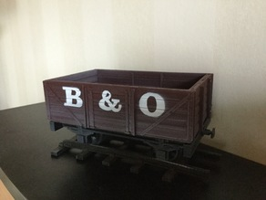 5 Plank Open Wagon for 16mm Scale Garden Railway