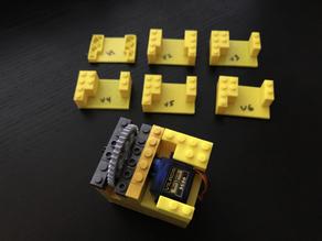 Lego 9g Servo Mount