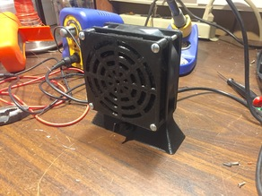 Solder Fume Extractor (92mm fan)
