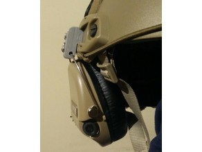 Sordin Headset to OPS Helmet Rail Mount