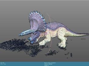 Mini Dino Triceratops