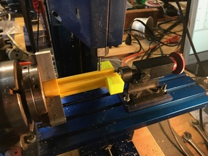 CNC Mill 4th axis makerbeam gang rail