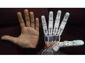 "Finger prototype for the ""LAD"" Robotic Hand"