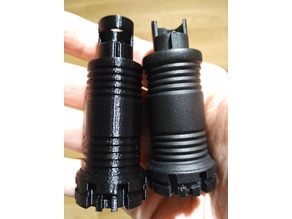 Spare part for spring operated umbrella