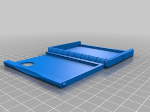 Folding wallet cassette