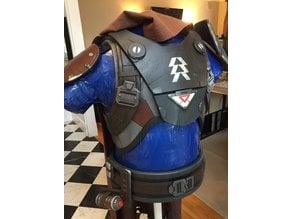 Destiny Hunter armor details