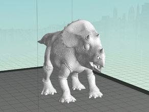 Baby Triceratops model