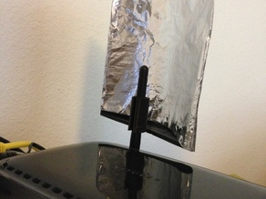 Parabolic Wi-Fi Reflector