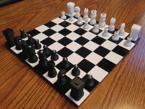 Bryan Cera's Custom Chess Set