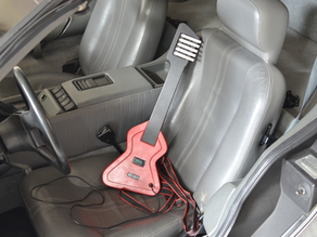 """""""Back to the Future"""" Guitar Game Controller (CNC)"""