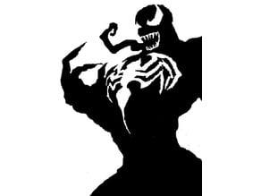 Venom stencil
