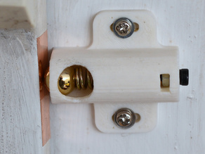 Ball-Spring Latch for Doors or Cabinets