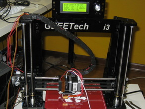 Geeetech Prusa i3 Pro - Cable Chain Top Mount