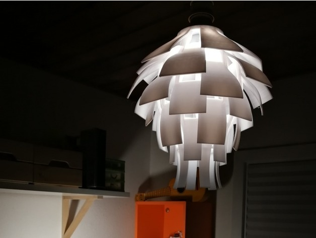 Artichoke lamp shade by rasmuspede thingiview aloadofball Image collections