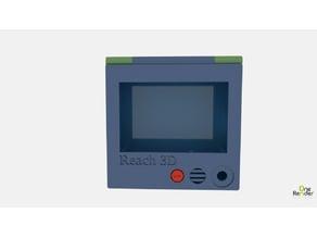 Reach 3D LCD Enclosure Plexiglass Mounted