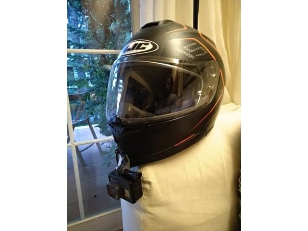 Hjc Helmet Gopro Mount By Kolotoympas Thingiverse