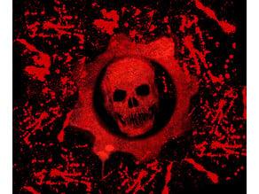 Gears of War Emblem Stencil
