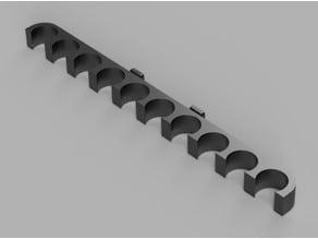 Nerf Dart Holder for Lidl's Powerfix Tool Wall Organizer